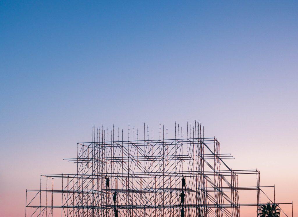 Anfang 2019 – Fertigstellung 1. Wohnblock