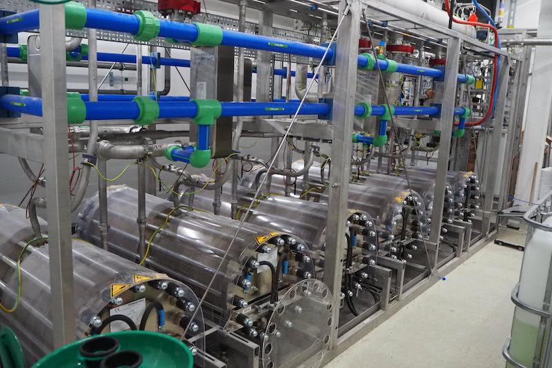 28. Mai 2021: Erstes Mal Wasserstoff erzeugt