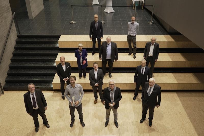 Auszeichnung mit dem Transferpreis der Steinbeis-Stiftung – Löhn-Preis für den wettbewerblichen Technologie- und Wissenstransfers zwischen Wissenschaft und Wirtschaft.